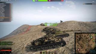 """WOT Clan Wars - RED-S vs OM """"you got punked"""""""