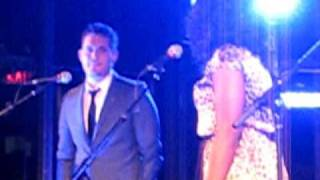 Michael Buble at a private VIP party performing improptu