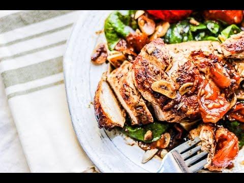 Rustic Balsamic Garlic Chicken