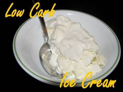 Atkins Diet Recipes - Low Carb Ice Cream (IF)