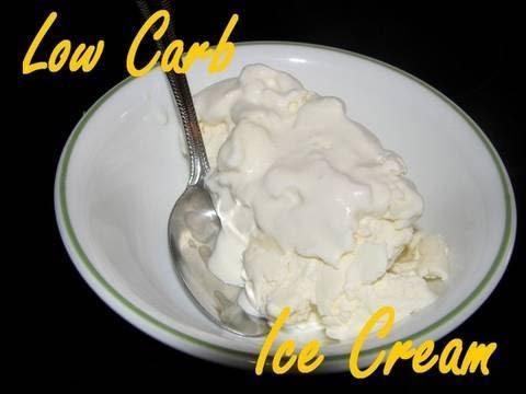 Atkins Diet Recipes - Low Carb Ice