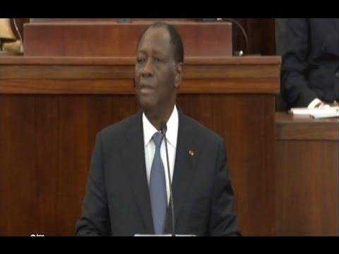 Côte d'Ivoire: Alassane Ouattara présente la nouvelle constitution devant le parlement
