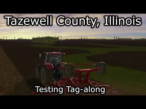 Tazewell County, Illinois.  Another Preview | Farming Simulator 17