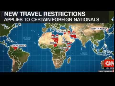 Trump administration announces new travel restrictions including seven countries