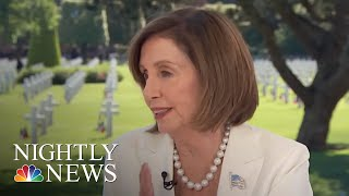 Nancy Pelosi Reportedly Tells Democrats She Wants To See Donald Trump 'In Prison' | NBC Nightly News