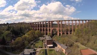 This is a flight over the worlds largest and second bridges solely made of brick. filmed with black snapper gopro.göltzschtalbrücke: 574m lon...