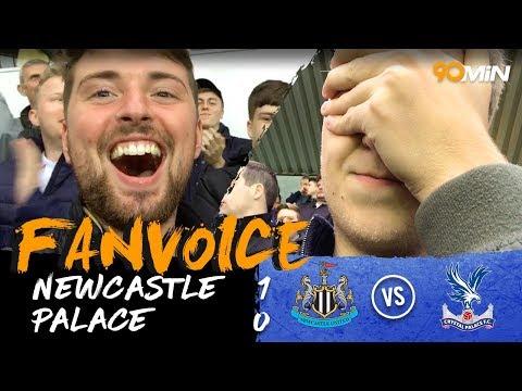 Merino scores late winner as Newcastle beat Palace!   Newcastle 1-0 Crystal Palace   90min FanVoice