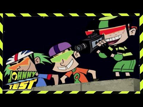 Johnny Test 104 - Jonny Test: Party Monster / Extreme Crime Stopper Animated Videos For Kids