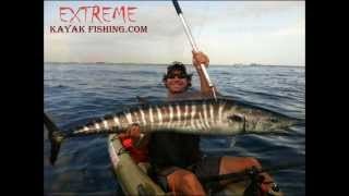 Extreme Kayak Fishing.com (Wahoo tow) drifted miles fighting this fish!!!
