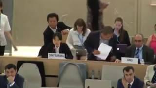 西村 幸祐 Present's 国連 ジュネーブ。