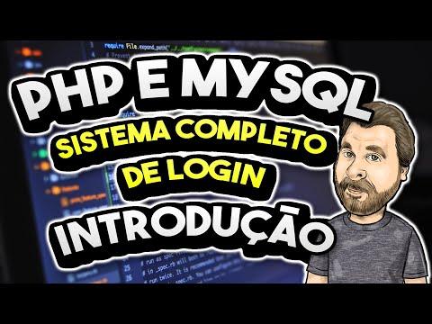 Sistema de Login PHP e MySQL - Crie o seu em minutos!