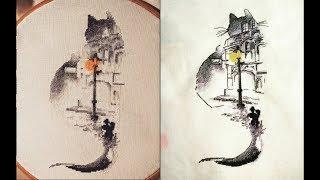 Кот от Яны Минасян|Авторская схема