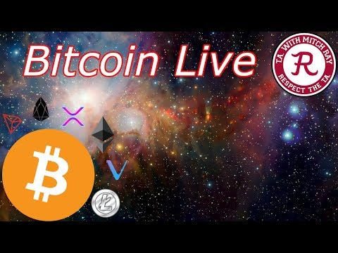 Bitcoin Live : BTC Still Above Resistance. Wheel Spin Night. Episode 621 - Crypto Technical Analysis