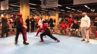 Yusuf Muldrow competes at Warrior's Cup 50th Anniversary Martial Arts Tournament