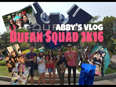 Abby's Vlog: Dufan Squad 2k16 (Ketemu ChandraLiow!!)