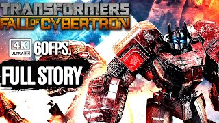 Transformers: Fall of Cybertron  All Cutscenes (Autobots Edition Game Movie) 4K Ultra HD 60FPS