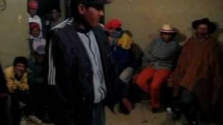"""Sangayaico: Ritual y juegos de funerales. Este es el """"Juljen""""."""