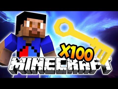 100 MYTHIC WAR KEY OPENING - Minecraft FACTIONS #34 - Treasure Wars S2