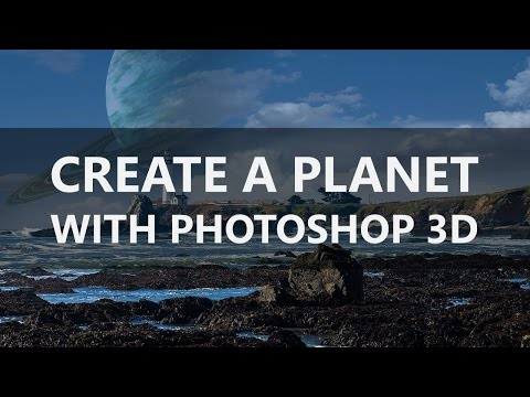 TheFIX 055: Create a Planet with Photoshop 3D