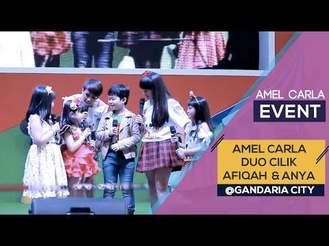 Amel Carla - Afiqah - Duo Cilik - Anya  (Event Gandaria City)