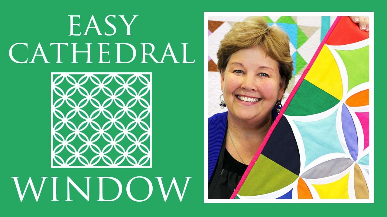 Make A Easy Cathedral Window Quilt With Jenny Doan Of