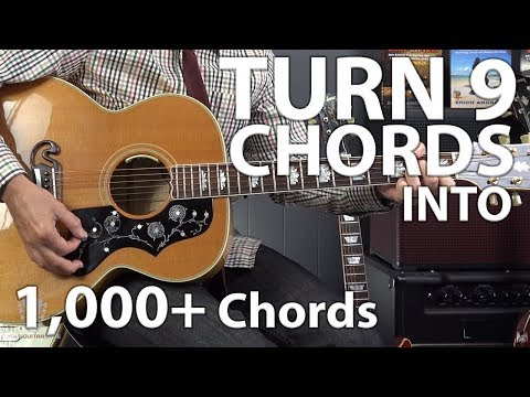 Using a CAPO to Turn 9 Chords into 1,000+ Songs on Guitar