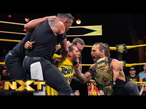Undisputed ERA gang up on Johnny Gargano: WWE NXT, April 17, 2019