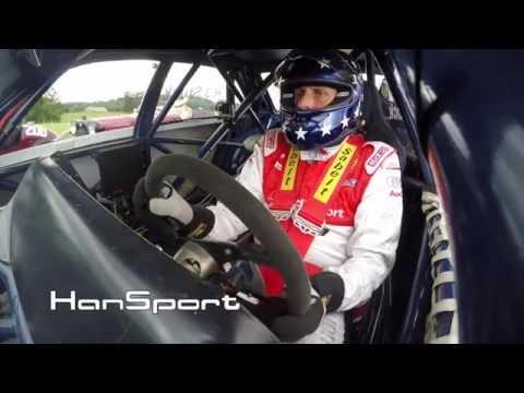 Hans Joachim Stuck - Audi IMSA S4 GTO. On board camera.