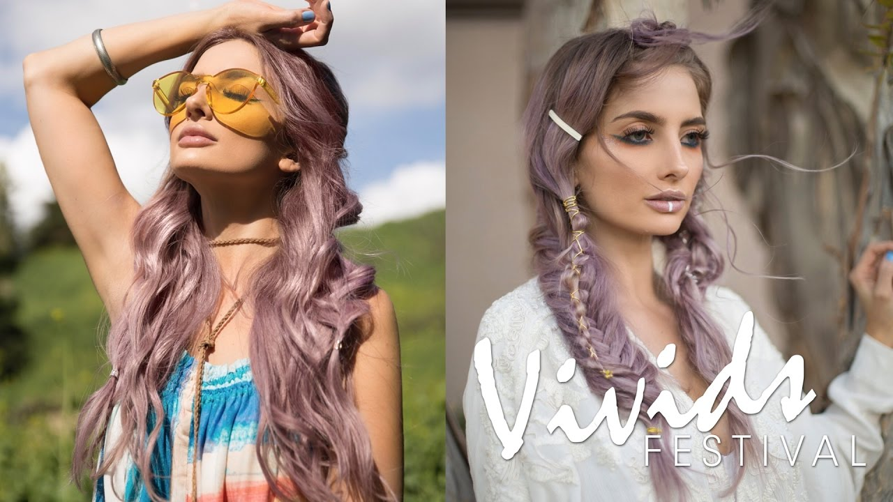 Midnight Moonchild Hair Color Amp Styling How To Vivids