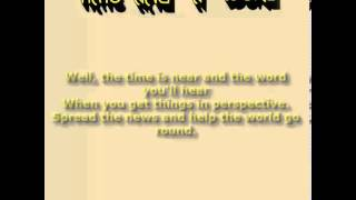 Yes: Time And A Word (Lyrics)