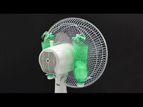 Cách làm quạt lạnh đơn giản từ chai nhựa