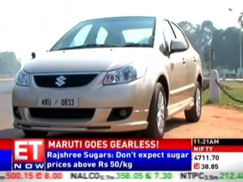 Maruti goes gearless with its new SX4!