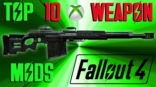 This video takes a look at the top 10 weapon mods in fallout 4 so f...