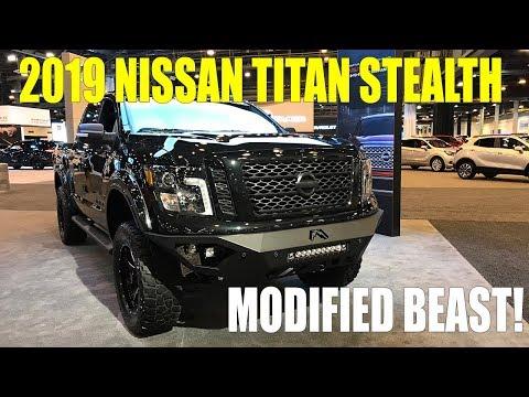 2019 Nissan Titan Stealth From Rocky Ridge Trucks