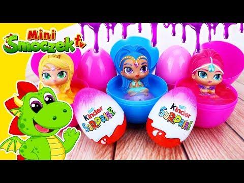 Shimmer I Shine I SLIME Jajka Niespodzianki Zabawki Bajki Dla Dzieci Po Polsku