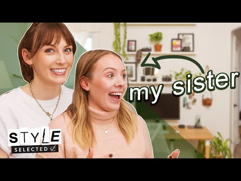 I can't believe my sister let me makeover her space | Style Selected