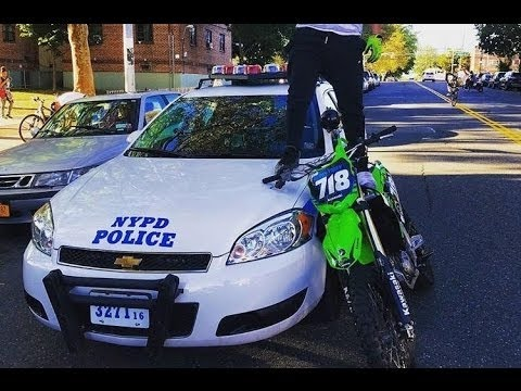Epic Motocross Vs Police Dirtbike Enduro 2016 Youtube