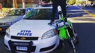EPIC Motocross VS Police | Dirtbike | Enduro | 2016