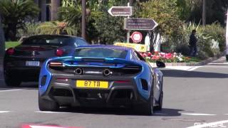 POLICE vs SUPERCARS in Monaco - PURE SOUND!!! GUMBAL