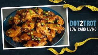 General Tso's Chicken Wings | Keto Gooey Good