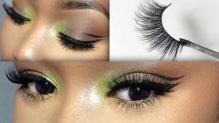 HOW TO: FALSE LASHES 101| BEGINNER FRIENDLY