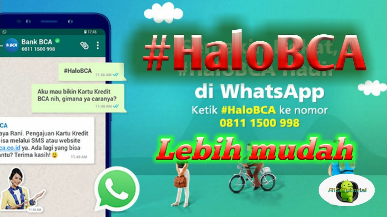 Halo BCA Via WhatsApp Chat