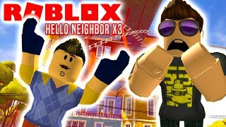 3 HELLO NEIGHBOR SPIL! - Roblox Hello Neighbor Dansk