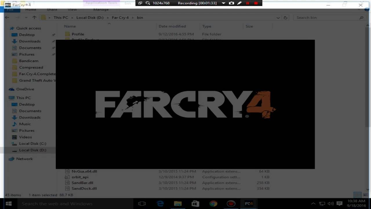 how to fix far cry 4 black screen not responding