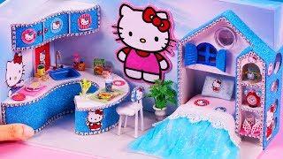 DIY Miniature House ~  10 Minute DIY Miniature Crafts #87