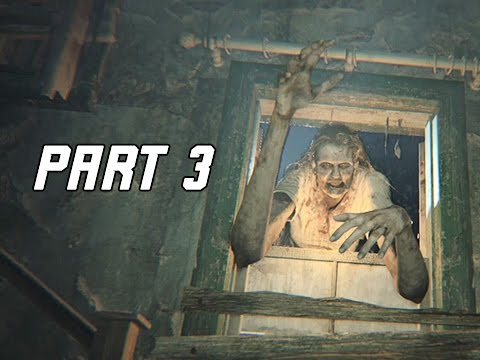 Resident Evil 7 Biohazard Walkthrough Part 3 - Boss Marguerite (RE7 Let's Play Commentary)