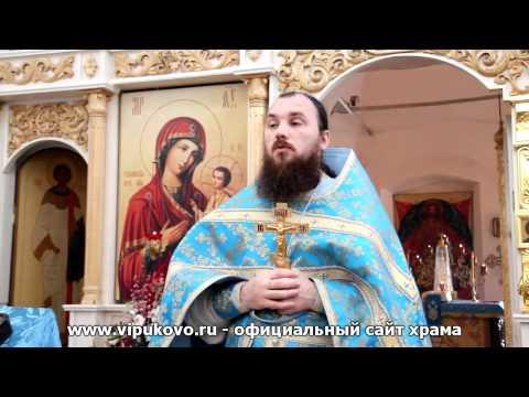 Толгская икона Божией Матери. о.Максим Каскун