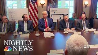 President Donald Trump Urges GOP To 'Get Tougher' And Signals Impeachment Likely | NBC Nightly News