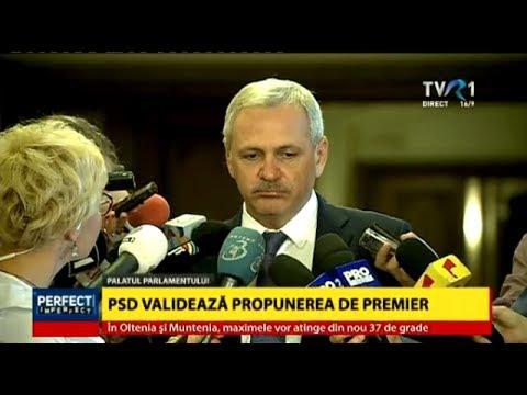 Liviu Dragnea: PSD are cinci-șase variante pentru desemnarea unui nou prim-ministru