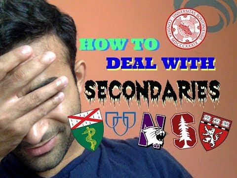 HOW TO PREP FOR SECONDARIES (AMCAS!)